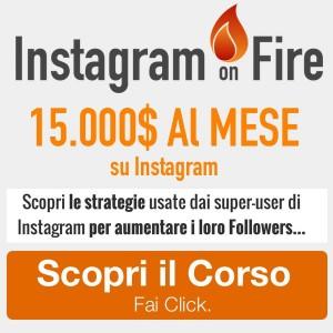corso instagram online