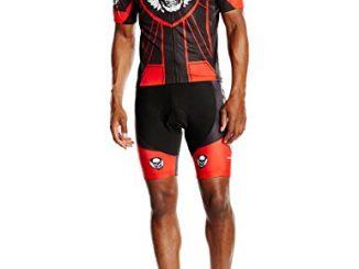 Freefisher, Completo da ciclismo Uomo, Rosso (Rot), L