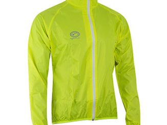 Optimum - Giacca impermeabile da ciclismo, da uomo, verde (verde), L